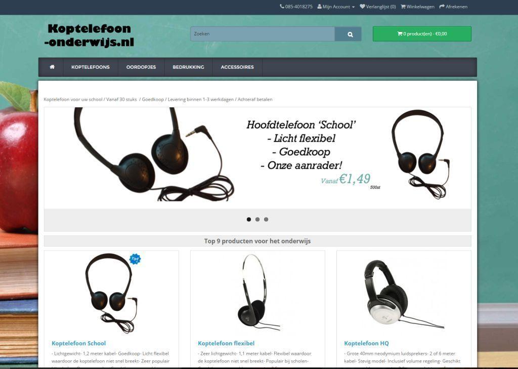 Afbeelding koptelefoon-onderwijs.nl