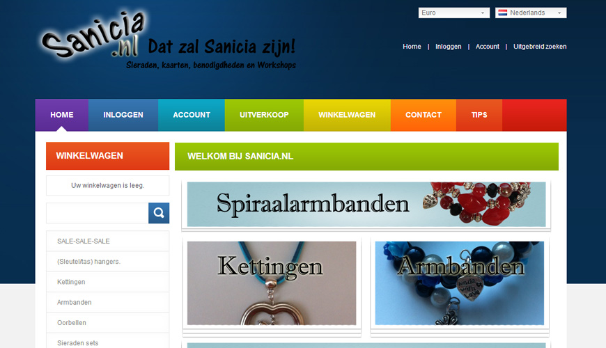 Afbeelding Sanicia.nl